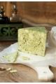 Nemesbugaci medvehagymás félkemény sajt